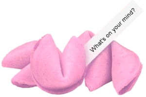 custom fortunes in your fortune cookies