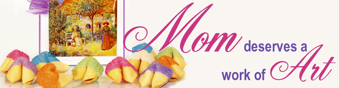 Mother's day gifts at fancy fortune cookies